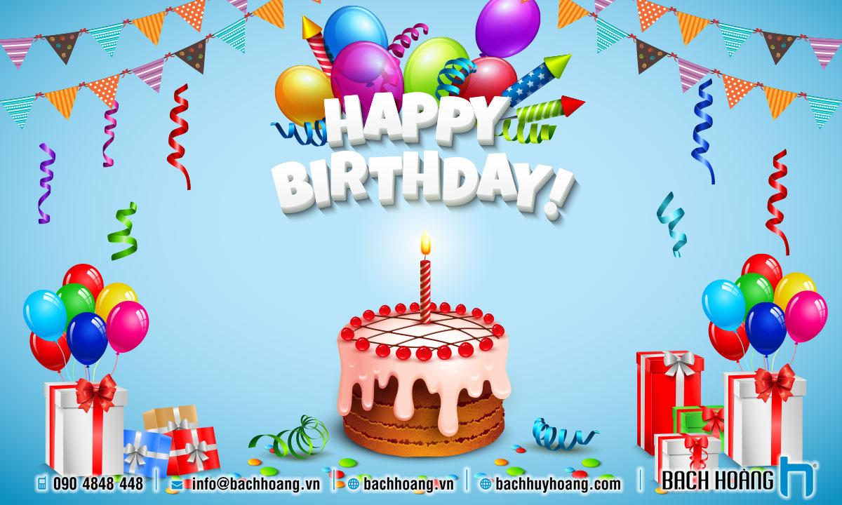 Trang trí sinh nhật trọn gói cho bé